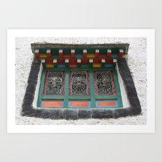 A Window into Tibet Art Print
