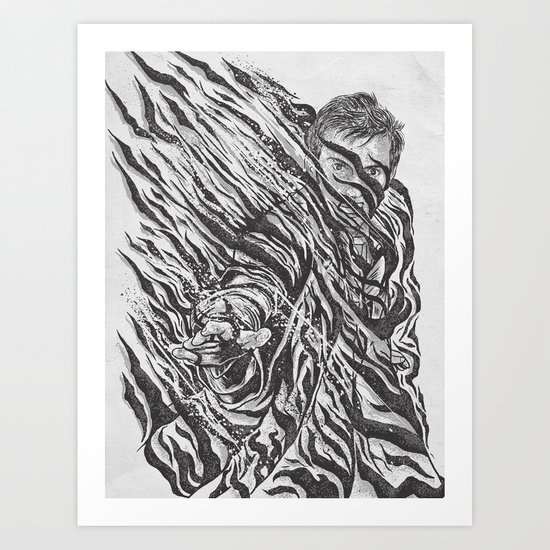 Fade Out! Art Print