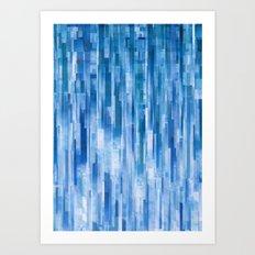Rain (Clouds Remix) Art Print