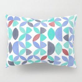 LITE GARDEN SALAD, hand-painted pattern by Frank-Joseph Pillow Sham