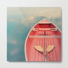 Floating On A Cloud Metal Print
