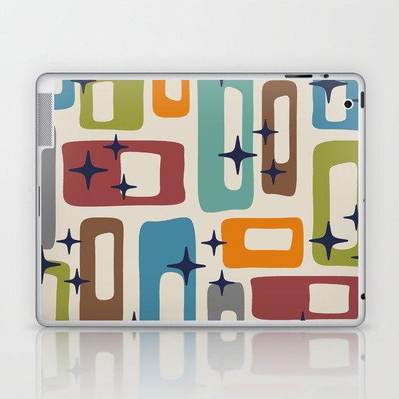 Retro Mid Century Modern Abstract Pattern 224 Laptop & iPad Skin