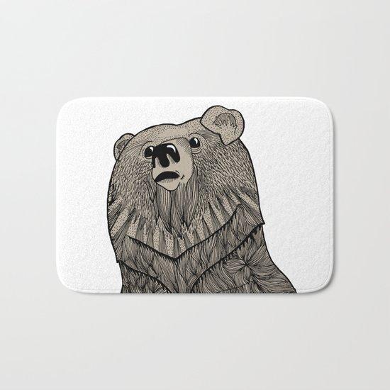 Beary Hairy Bath Mat