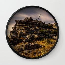 Moonlight Shadow Wall Clock
