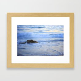 Wave Tranquility Framed Art Print