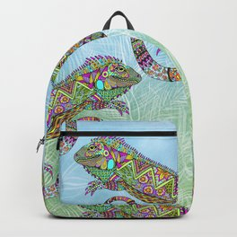 Electric Iguana Backpack