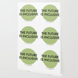 The Future Is Inclusive - Green Wallpaper