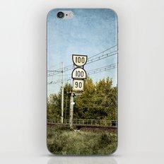 100 100 90 iPhone & iPod Skin