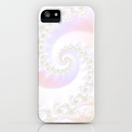 Ocean Treasure -- Mother of Pearls Mandelbrot iPhone Case