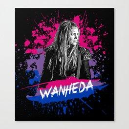 Wanheda the 100 - LGTB Canvas Print
