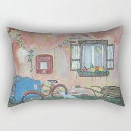 Spring into Summer Rectangular Pillow