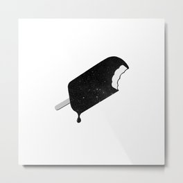 Space Melter (Redux) Metal Print