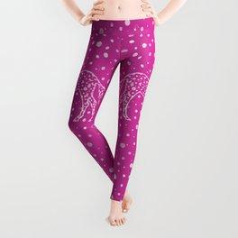 I Spot a Pink Unicorn Leggings