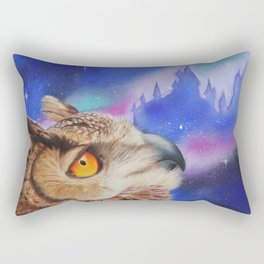 Dreaming of the Owlery Rectangular Pillow