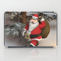 santa iPad Cases featuring Santa by Design Windmill