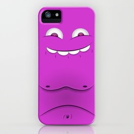 Faces V2 iPhone Case