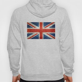 "English Flag ""Union Jack"" bright retro 3:5 Scale Hoody"