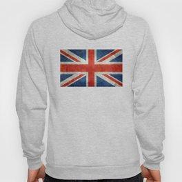 "English Flag ""Union Jack"" bright retro 3:5 Scale Hoody"