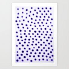dots of focus Art Print