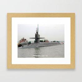 USS GEORGIA (SSBN-729) Framed Art Print