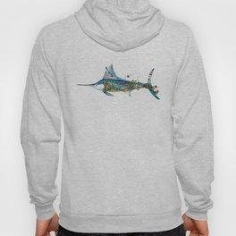 Colored Fisherman Marlin Hoody