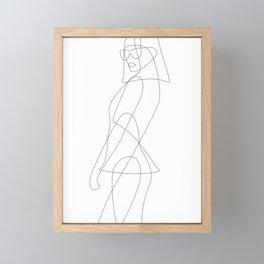Lady of Fashion Framed Mini Art Print