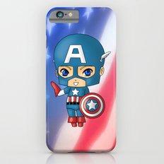 Chibi Captain America iPhone 6s Slim Case