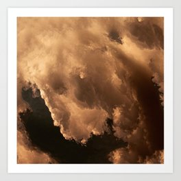 The Clouds #1 Art Print