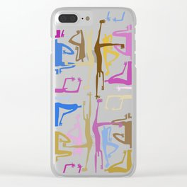 Community 3 Clear iPhone Case