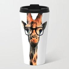Hipster Giraffe Travel Mug
