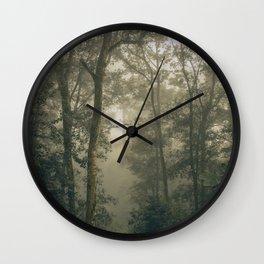 Sacred Woods Wall Clock