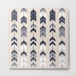 Aztec arrows Metal Print
