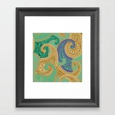 out arabian Framed Art Print