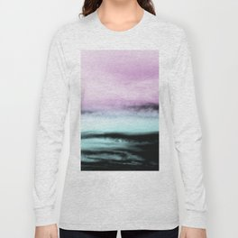 Ocean Love #2 #abstract #decor #art #society6 Long Sleeve T-shirt