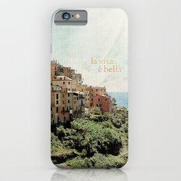 la vita è bella iPhone Case