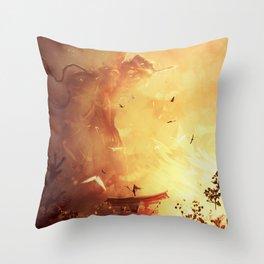 Ava Arise Throw Pillow