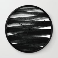 positive Wall Clocks featuring TX01 by Georgiana Paraschiv