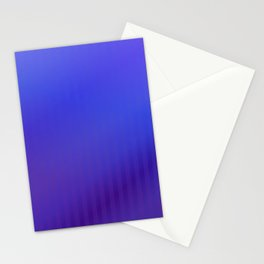 Geometric abstract purple violet blue gradient Stationery Cards