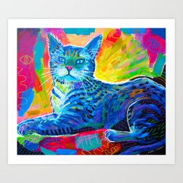 Neon Bloodlust Art Print