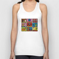 keith haring Tank Tops featuring Keith Haring & star W.2 by le.duc