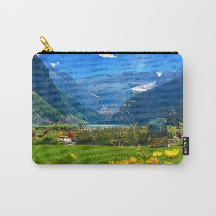 Lake Louise, Beautiful Day Carry-All Pouch