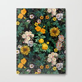 Midnight Garden XX Metal Print