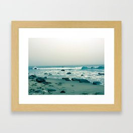 Block Island Beach Framed Art Print