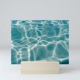 Crystal Clear Water Mini Art Print