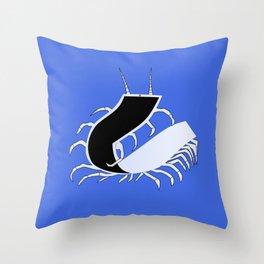 Centipad Throw Pillow