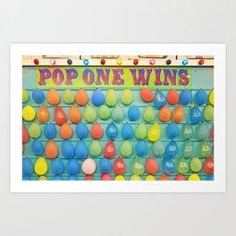 POP Balloons Art Print