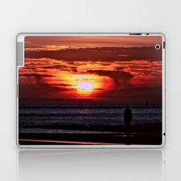 As the Sun goes down Laptop & iPad Skin