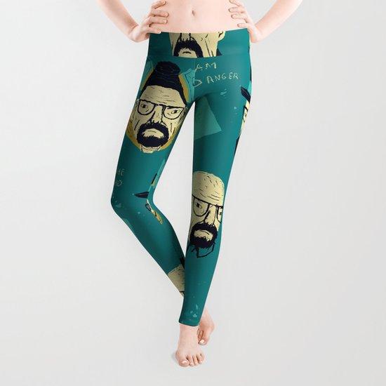 heisenberg pattern Leggings