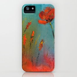 Flowers in the window iPhone Case