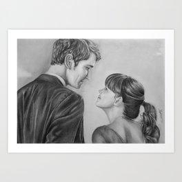 Love Stare Art Print